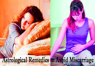 Astrological Remedies to Avoid Miscarriage